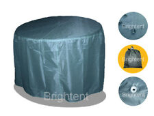 Round Outdoor Furniture Cover Patio Garden Table Chairs Storage 6 Seater BS05N