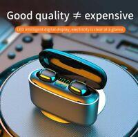 Bluetooth 5.0 Headset TWS Wireless Earphones Mini Earbuds IPX6 Stereo Headphones