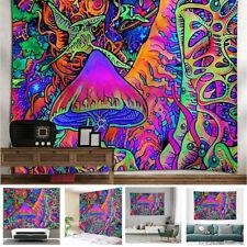 Trippy Smoke Wall Hanging Psychedlic Tapestry Mushroom Mural background cloth
