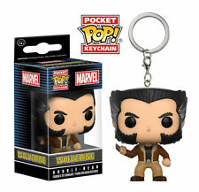 Funko POP ! Pocket Keychain Logan - Wolverine Bobble Head portachiavi