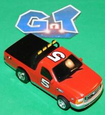 LIFE LIKE ROKAR FORD F350 RED #5 Slot Car HO Running Chassis