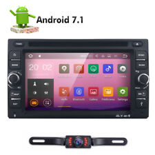"6.2"" Android 7.1 2 DIN Quad-Core Car GPS Stereo DVD Player Wifi BT Radio+Camera"