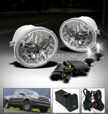 01-07 TOYOTA SEQUOIA/00+ TUNDRA TRUCK BUMPER FOG LIGHT LAMP+6000K HID+SWITCH KIT