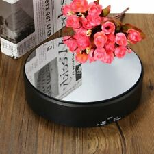 360 Degree Showcase Rotating Turn Table Jewelry Display Stand Power By Battery