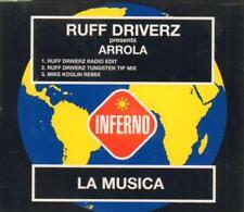 Ruff Driverz Presents Arrola(CD Single)La Musica-New