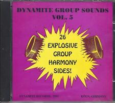 dynamite doowops vol 5,26 explosive group harmony songs.brand new