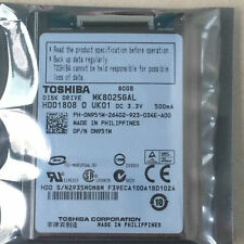 Toshiba MK8025GAL 80GB ZIF/CE HARD DRIVE Replace MK8034GAL HS082HB FOR MACBOOK