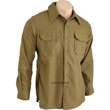 CHEMISE MOUTARDE US Taille XL WW2 MILITARIA JEEP