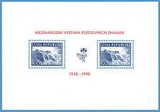 B282-1-2 Czech International Exhibition of Stamps Praha 1998 S/S 1998
