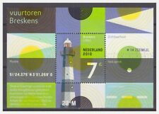 Netherlands 2010 Vuurtoren lighthouse S/S MNH