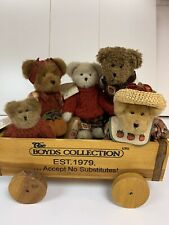 Boyd's Bear Collectible Wooden Crate Wagon To Display Your Bears Large Very Rare