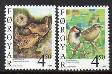 Faroe Islands MNH 1999 SG355-6 Birds(4th Series)