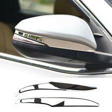 For Toyota Highlander 2014-2018 Chrome Rear View Side Mirror Cover Trim Molding