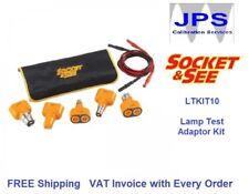 Socket & See LTKIT10 Lamp Test Adaptor Kit Light Testing JPST019 & VAT Invoice