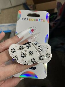 Crocs Shoes Inspired Phone Grip DOG PAWS swappable