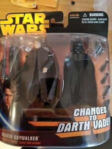 Revenge Of The Sith Anakin Skywalker Changes To Vader
