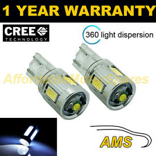 2x W5w T10 501 Xenon Blanco 360 Cree Led sidelight bombillas Brillante sl103406