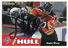 JODY HULL PANTHERS AUTOGRAPH AUTO 96-97 UD COLLECTORS CHOICE #107 *27399
