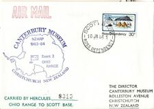 Ross Dependency 1984 cover Antarctic Scott Base Ohio Range Lockheed Hercules