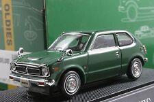 EBBRO 43123 1:43 SCALE 1972 HONDA CIVIC 3-DOOR HI DELUXE DIE CAST MODEL CAR