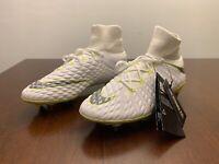Nike Mens 7.5 Hypervenom Phantom III 3 SG Soccer Cleats White  AJ6706-108