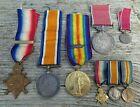 WW1 MEDAL TRIO WITH B.E.M & MINIATURES - PRIVATE ALBERT ABBOTT 3rd LONDON REGT.