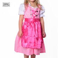 SALE! NEU! Wunderschönes Kinder Dirndl Trachtenkleid 3-teilig in ROSA UVP 29,90€