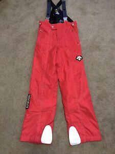Original DESCENTE Japan Made Ski Women's Snow Pants Trousers Sz 40 M