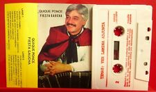 QUIQUE PONCE Fiesta Gaucha cassette tape Songs & Dances From Argentina
