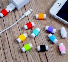 10 X Protector Saver Cover For Apple iPhone Lightning Charger Cable USB Cord .