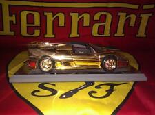 1/18 - Ferrari F50 Gold plated with certificate plaque and box