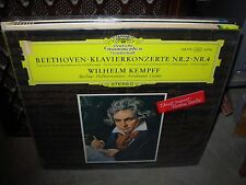 KEMPFF / BEETHOVEN klavierkonzerte 2 & 4 ( classical ) SEALED NEW