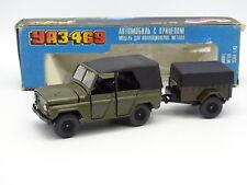 Russland 1/43 - Gas 469 + Anhänger Armee Militär