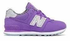 New Balance Kid's 574 Luxe Rep Big Kids Female Shoes Purple