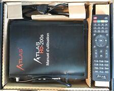 DEUX Decodeurs Atla s Satellites CRISTOR HD200s + HD200se + routeur GL-MT300N-V2