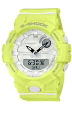 G-Shock GMAB800-9A S Series Yellow Bluetooth Step Tracker Sports Training Watch