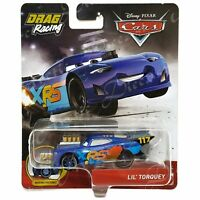 Disney Pixar Diecast CARS XRS Drag Racing Moving Pistons Lil' Torquey GFV39