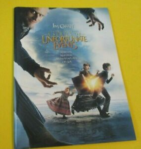 Lemony Snicket's A Series of Unfortunate Events Press Kit Jim Carrey Jude Law