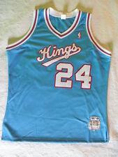 Mitchell Ness M&N Authentic Reggie Theus Sacramento Kings jersey sz 52 2XL XXL