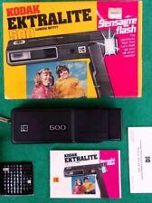 Rare Vintage Kodak Ektralite 500 110 Film Camera In Original Box With Papers