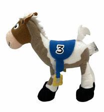 "Disney Parks Toy Story Bullseye Race Horse #3 Stuffed Animal Plush 8"" Long"