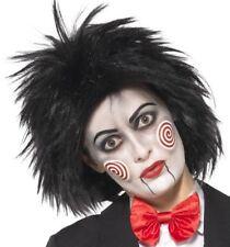 Halloween Fancy Dress Licensed Miss Saw Wig Jigsaw Hair wig by Smiffys New