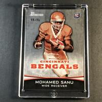 MOHAMED SANU 2012 BOWMAN #152 SILVER PARALLEL ROOKIE RC #'D /99 49ERS NFL
