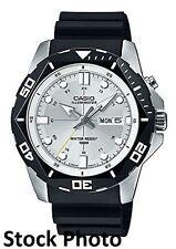 Casio Men's MTD-1080-7A White Dial Super-illuminator Watch
