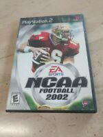 NCAA Football 2002 PlayStation 2 PS2