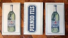 3x Vintage PERNOD FILS Absinthe Advertising Cigarette Papers Orcel Rizla Packs !