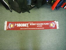 West Ham United Bobby Moore Fund Football Supporters Scarf