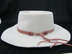 The Australian Outback Collection Men's 5X Fur Felt Hat Size 7 3/8