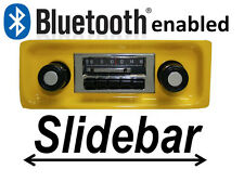 Slidebar Radio Stereo & Bluetooth 1967-1972 GMC Pickup Truck By Custom Autosound