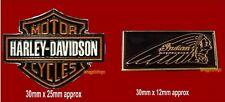 USA HOG Harley Indian Motorcycle Enamel Pin Badges
